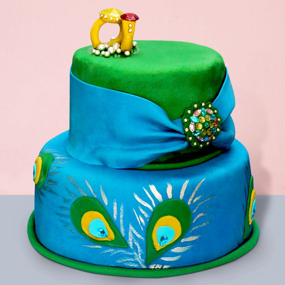 Royal Peacock Wedding Cake Winni In