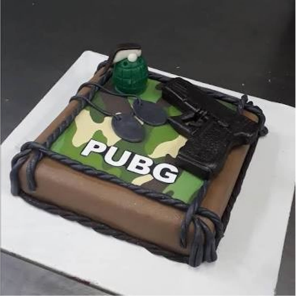 Raging Pubg Cake Winni In