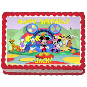 Order Mickey mouse clubhouse photo cake online