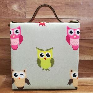 Cute Owl Print Handbag