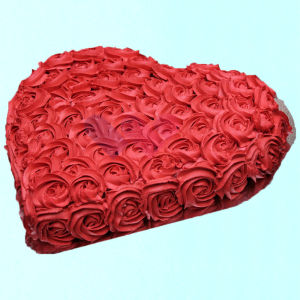 Order Strawberry Red Rose Cake online