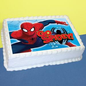 Order Spiderman Vanilla Photo Cake online