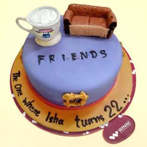 Order Friends cake online