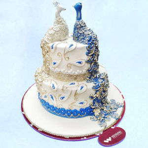 Order Love Time Wedding Cake online