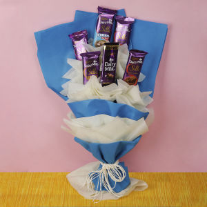 Order Dairy Milk Chocolate Bouquet online