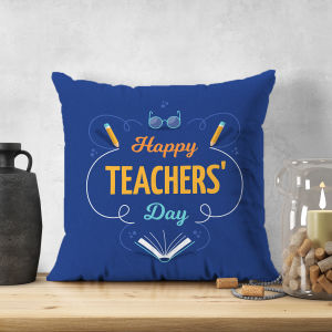 Happy Teachers Day Cushion