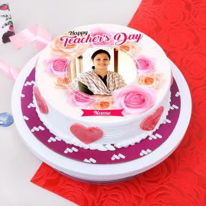 Personalised Teachers Day Cake