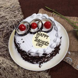 Teachers Day Smash Cake