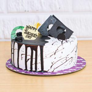 Melting Choco Teachers Day Cake