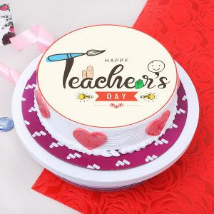 Creative Teachers Day Cake