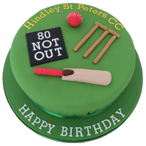 Buy Cricket Fondant Cake