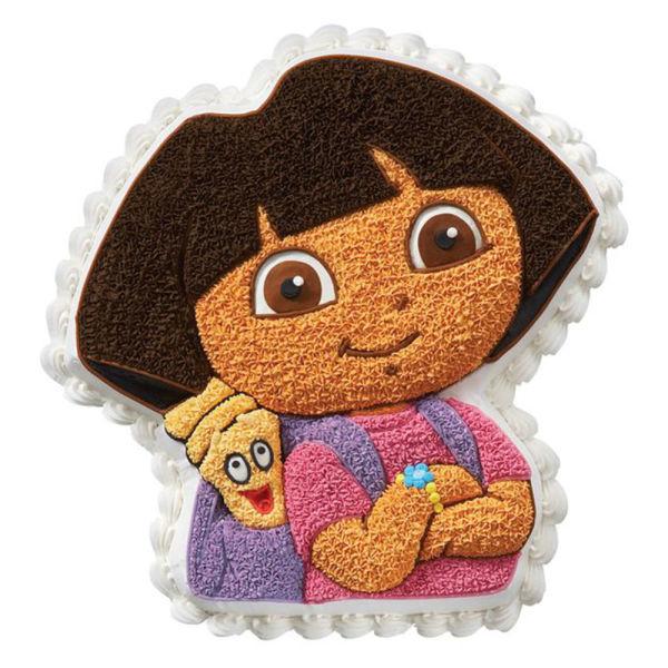 Buy Dora n Map Shape cake