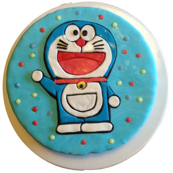Buy Doraemon fondant cake
