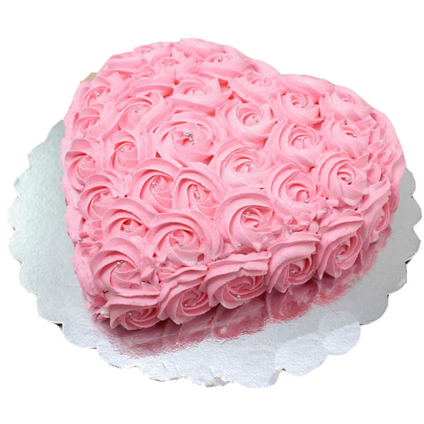 Buy Strawberry Rose Cake