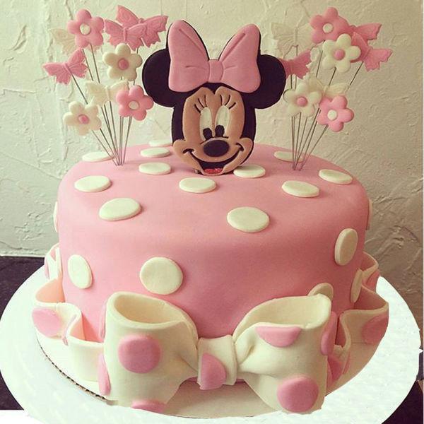 Buy Minnie mouse fondant cake