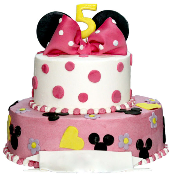 Buy Minnie Mouse 2 tier Cake