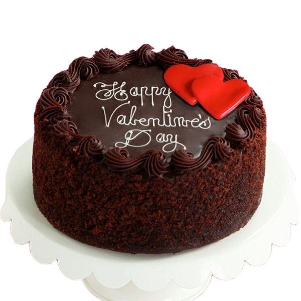 Buy Chocolate valentines day cake