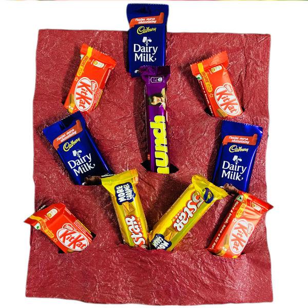 Buy 10 mixed chocolates