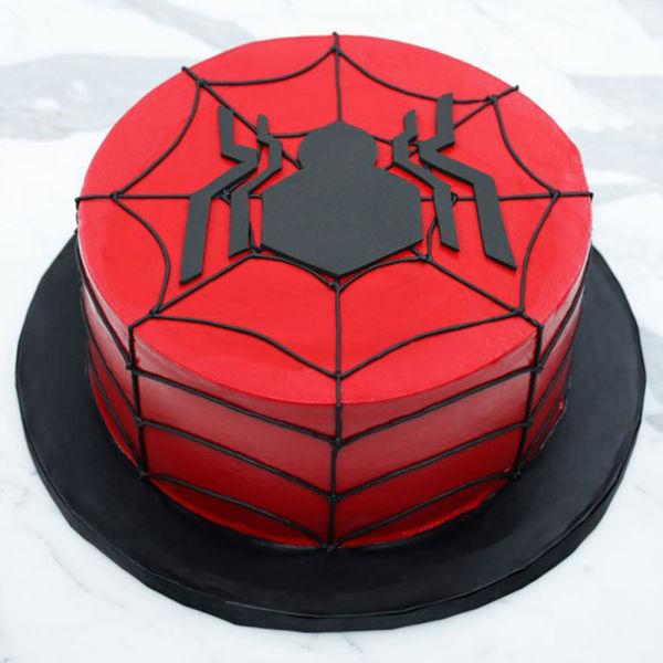 Buy Spiderman Birthday Cake