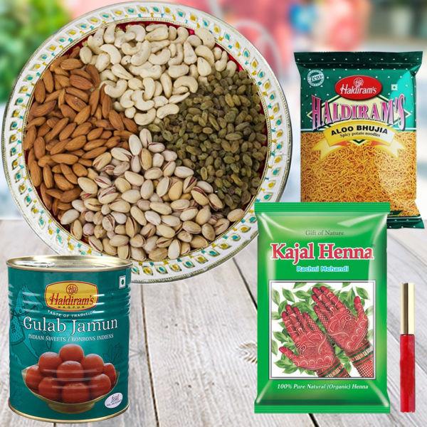 Buy Heartfelt Gift on Karwachauth