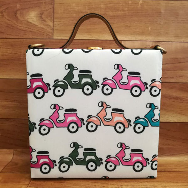 Buy Scooter Print Handbag