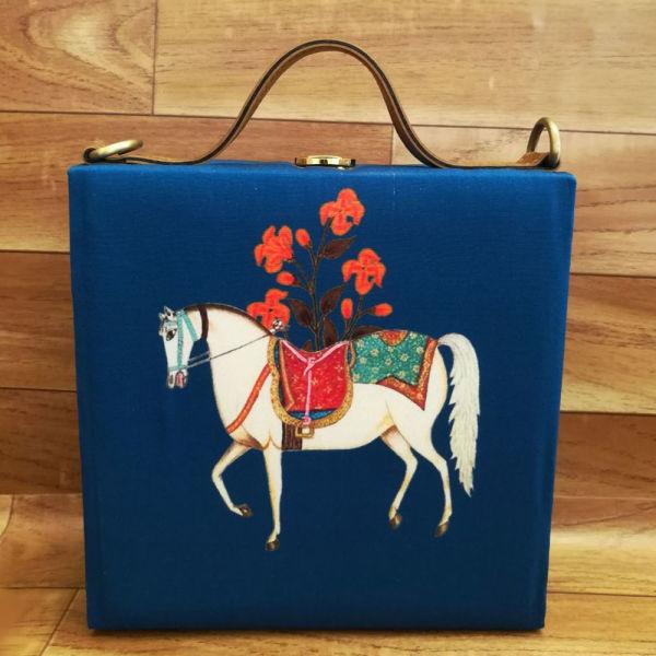 Buy Horse Print Handbag