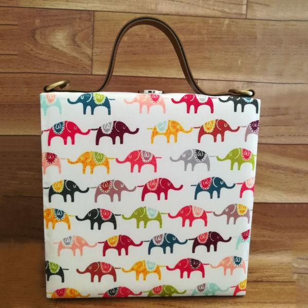Buy Elephant Print Handbag