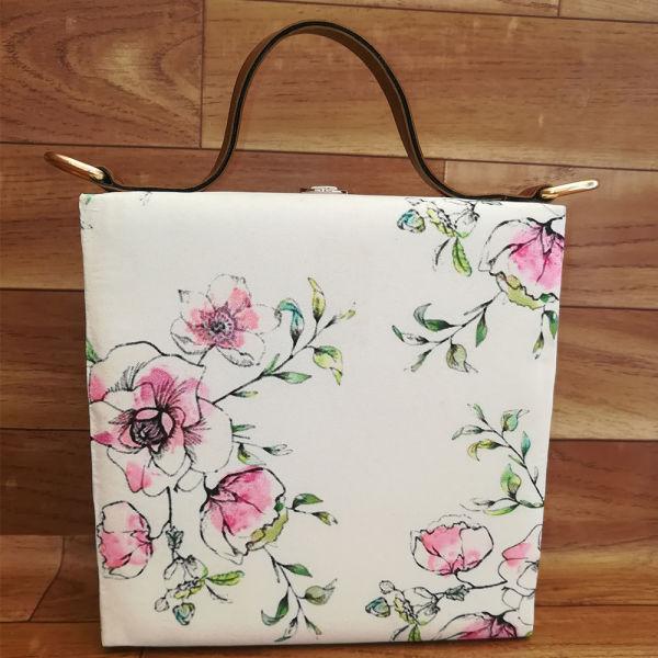 Buy Floral Sketch Handbag