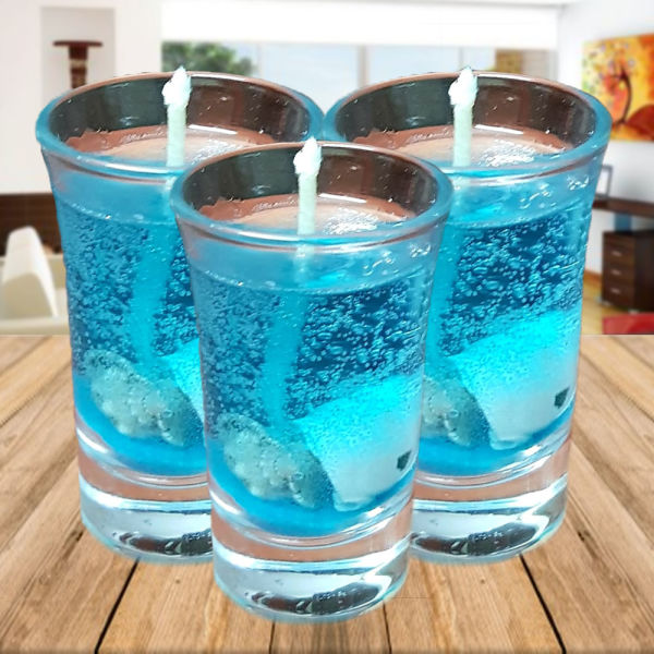 Buy Divine Glass Candles