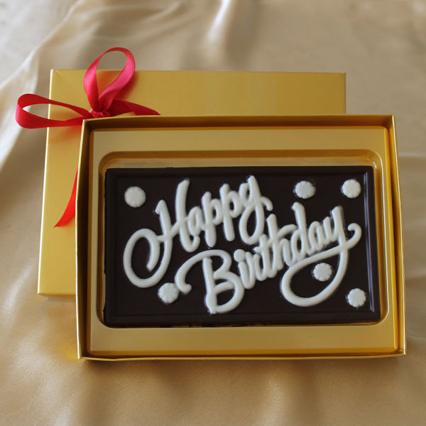 Buy Happy Birthday Chocolate