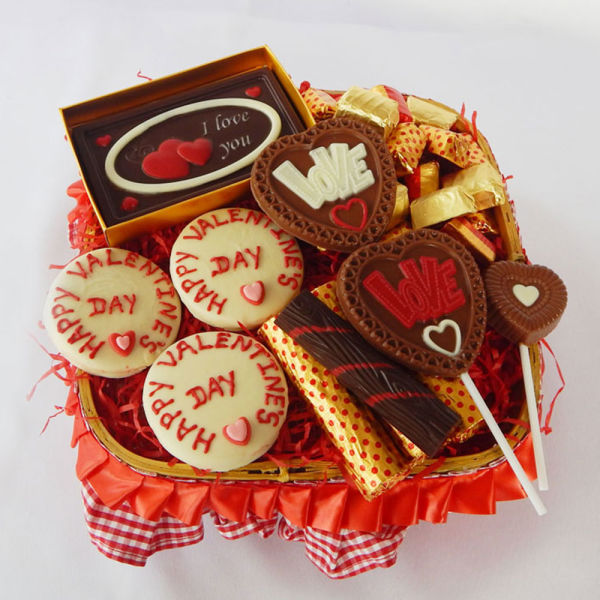 Buy Be Mine Chocolate Hamper