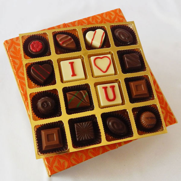 Buy Romantic Elegant Chocolate box