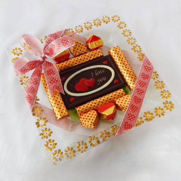 Buy Valentines day Chocolate Platter