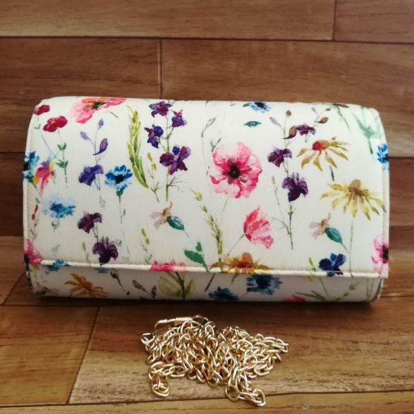 Buy Beautiful Flower Print Clutch