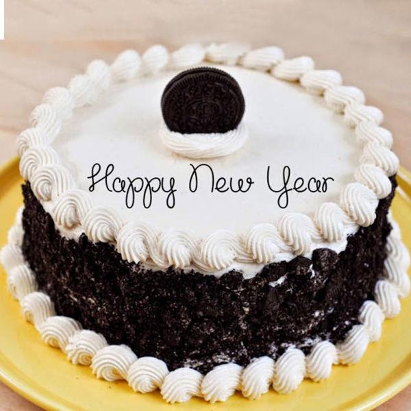 Buy Exotic New Year Cake