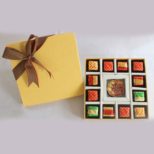 Buy Happy New Year Message Chocolate