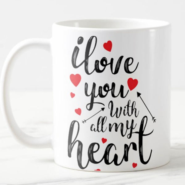 Buy Heart Filled with Love Mug