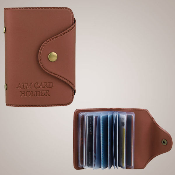 Buy Leatherette Card Holder
