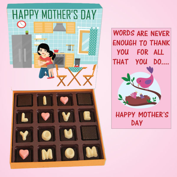 Buy I Love Mom Chocolate Box