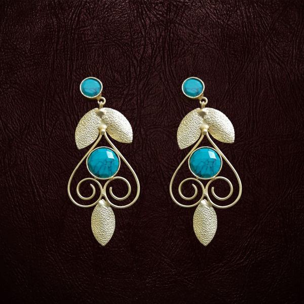 Buy Sky Blue Earrings
