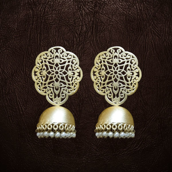 Buy Net Design Earrings