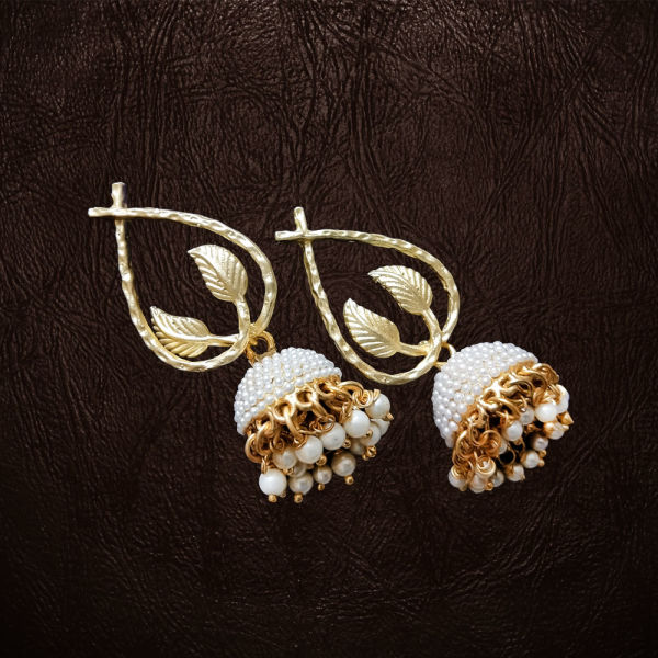 Buy Golden Jhumkas