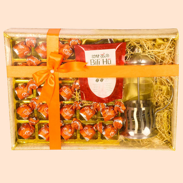 Buy Coffee Hamper with French Press