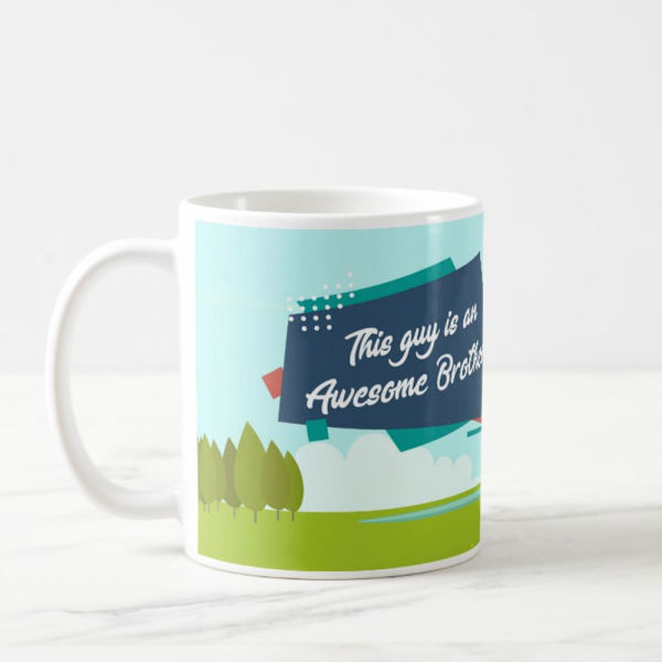 Buy Awesome Brother Mug