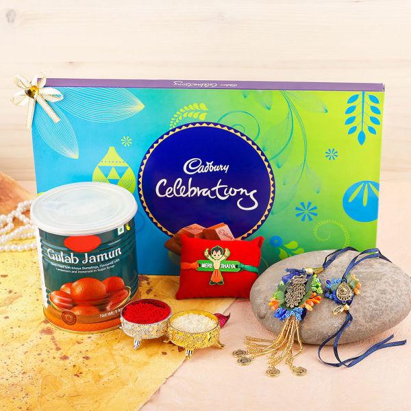 Buy Cheerful Rakhi Delight