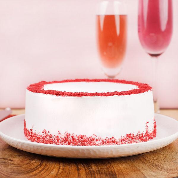 Buy Love Expressing Red Velvet Cake