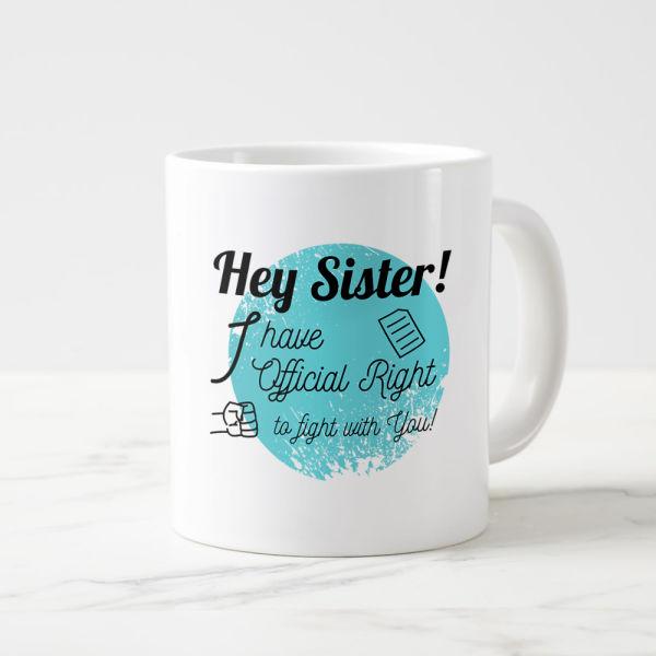 Buy Fighting Sis Mug