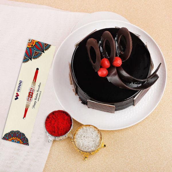 Buy Beautiful Rakhi Gift for Cool Bro