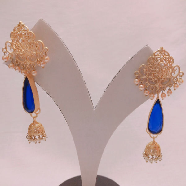 Buy Elegant Blue Earring