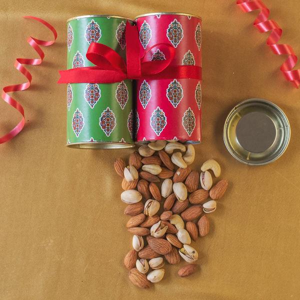 Buy Ethnic Diwali Dry Fruits Tin